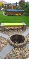 Polstr na zahradní lavičku