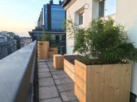 Podušky na velký balkón