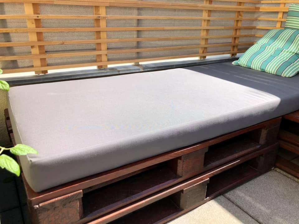 Polstr na paletovou postel