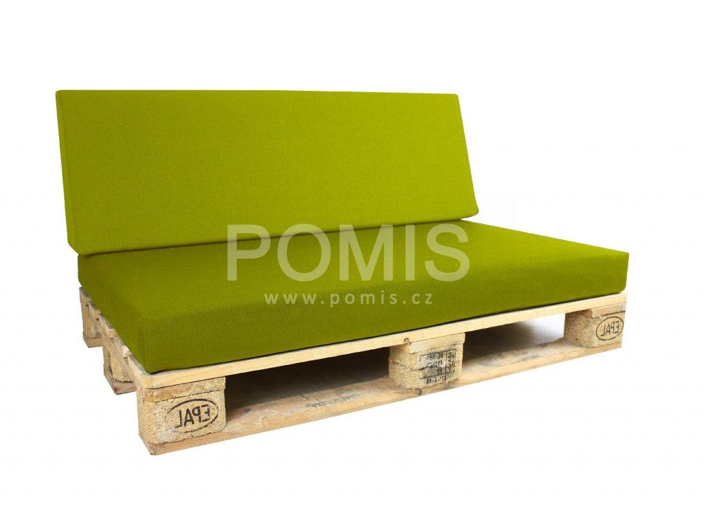Outdoor polstr na paletový nábytek POMIS Green