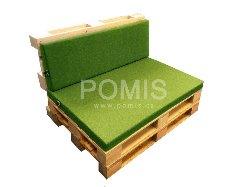 POMIS Outdoor paletový polstr Lawn