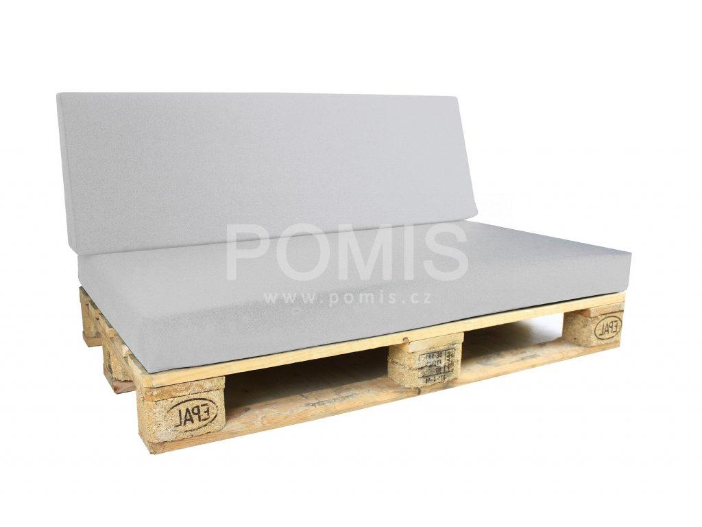 Outdoor polstr na paletový nábytek POMIS Light Grey