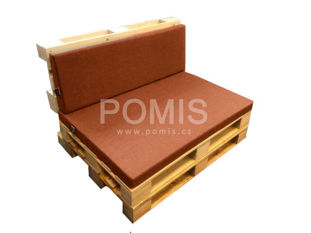 POMIS Outdoor paletový polstr Bricks
