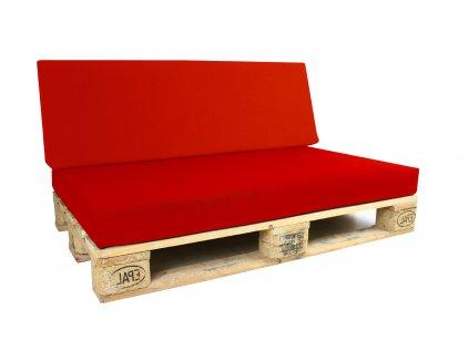 Outdoor polstr na paletový nábytek POMIS Red