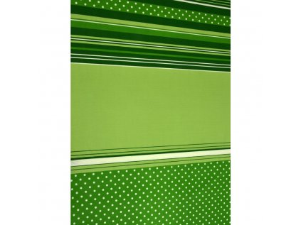 puntik zeleny bavlna lux metraz