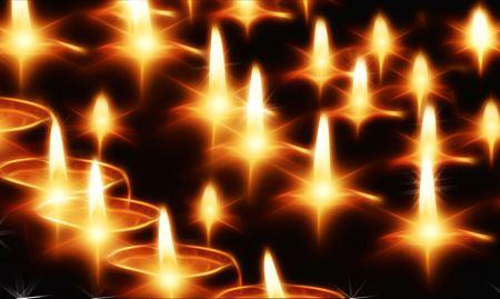 Svíčky bez vůně a čakrové svíce