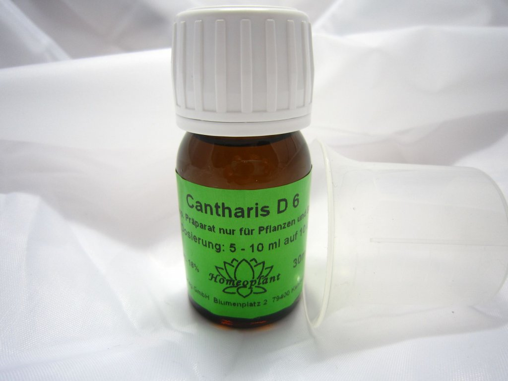 0003763 cantharis 6d proti plisnovym chorobam a popaleninam