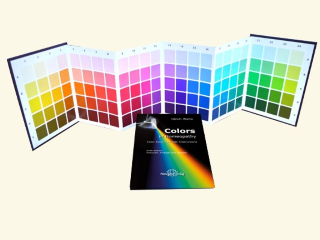 0008198 colors in homeopathy set