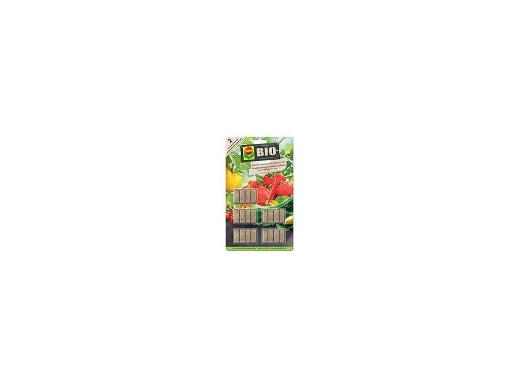 0004713 compo bio hnojive tycinky pro rajcata a zeleninu 40 ks