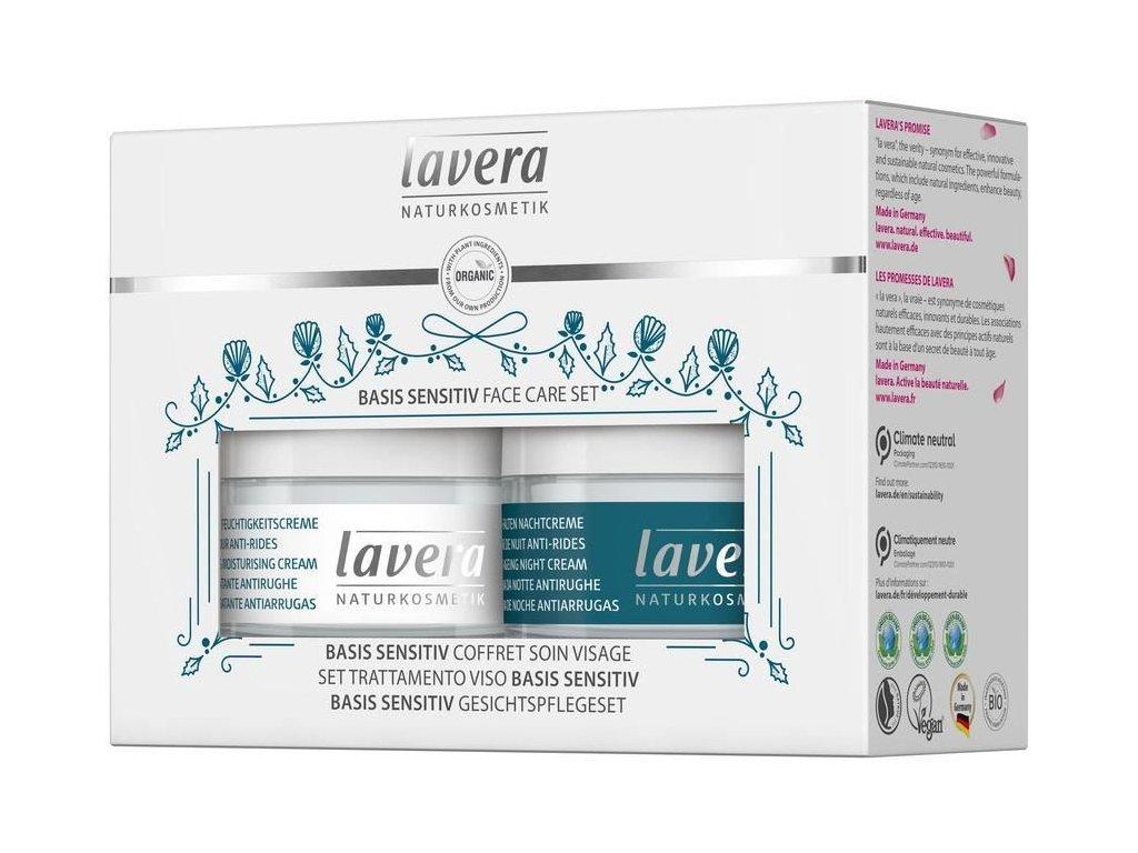 0011510 darkovy set pece o plet lavera basis sensitiv