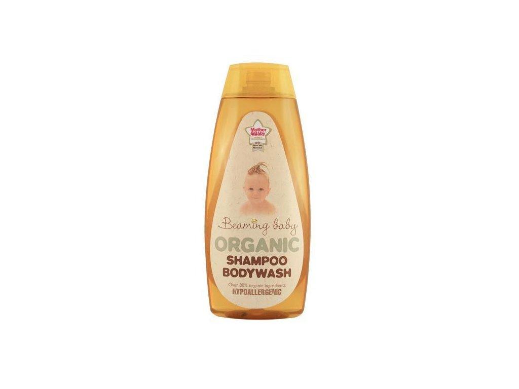 0005706 detsky organicky sampon a telove mydlo beaming baby 250 ml