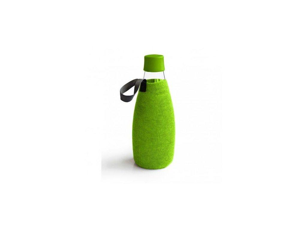 0004578 obal na lahev retap 08 l zeleny uplet