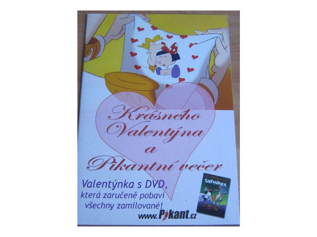 0001118 dvd snehurka eroticka kreslena pohadka