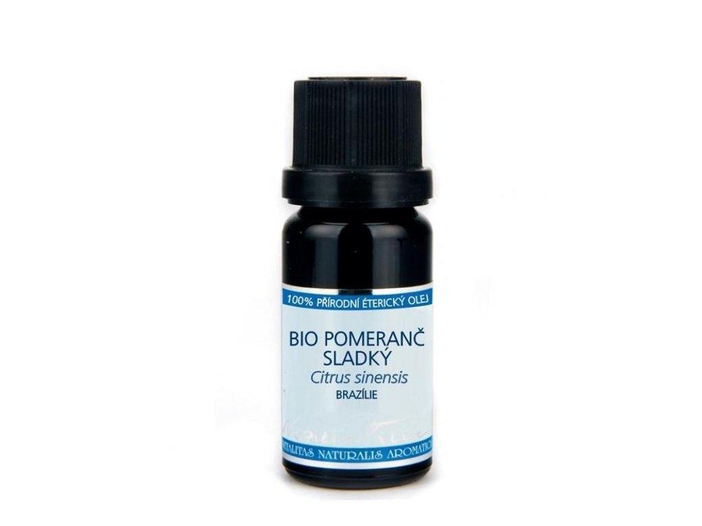 0002734 etericky olej bio pomeranc sladky 10 ml
