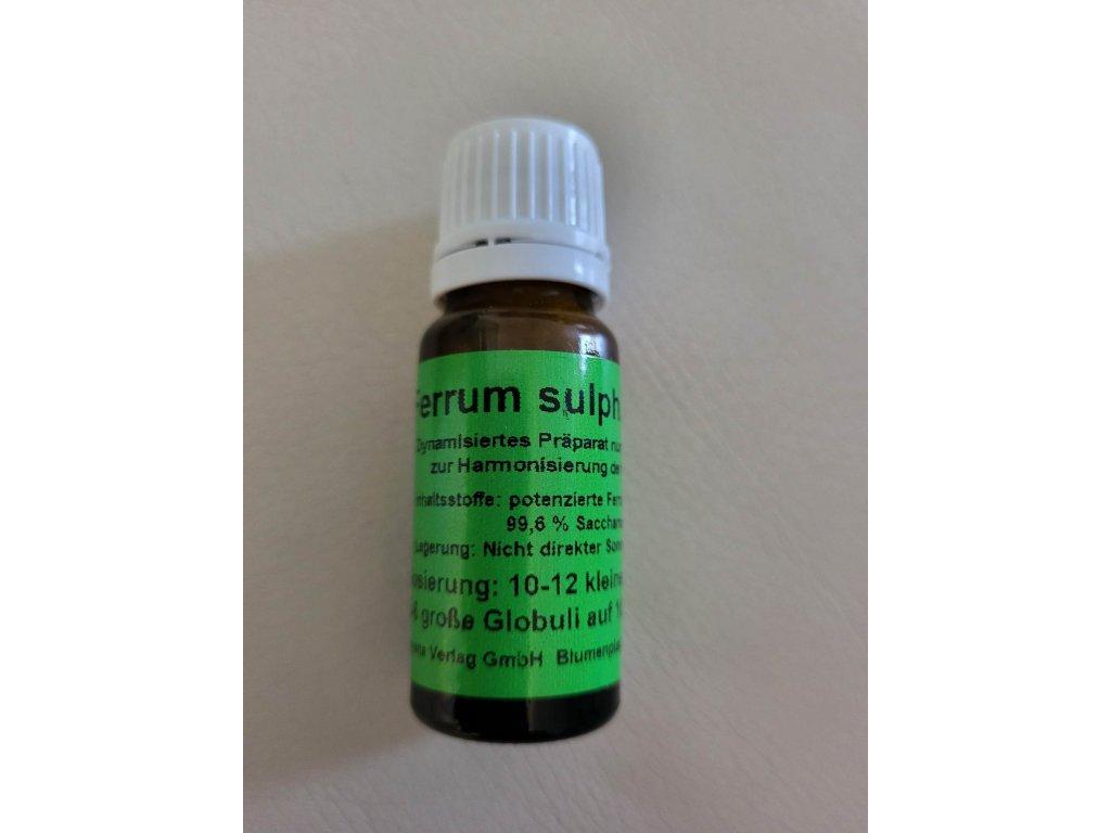 0003750 ferrum sulphuricum d6 proti plisnim a rakovine