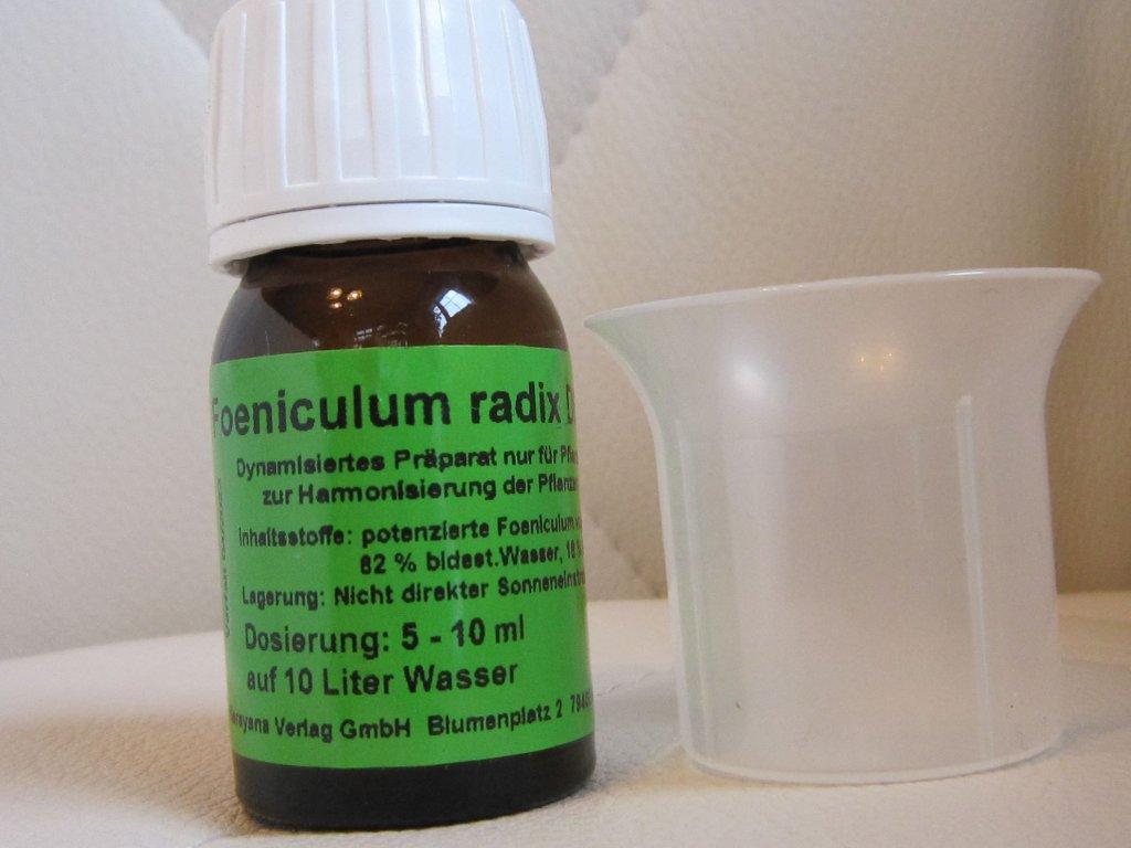 0006120 foeniculum vulgare radix d6 homeoplant proti plevelum