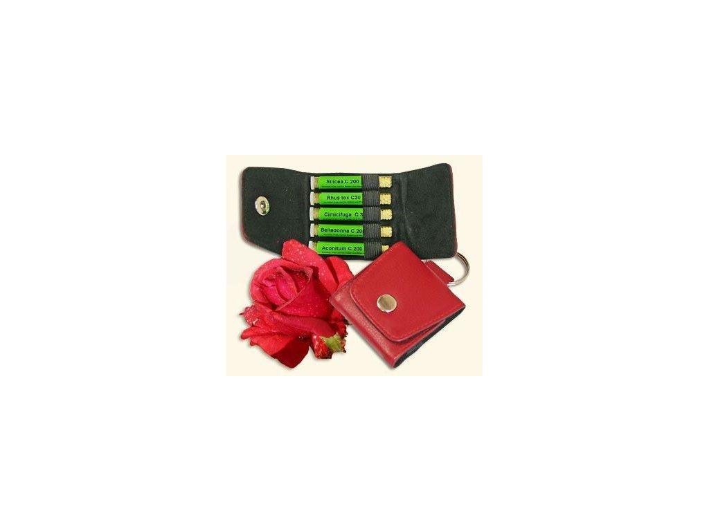 0011642 homeopaticka lekarnicka ruze sada 5 druhu