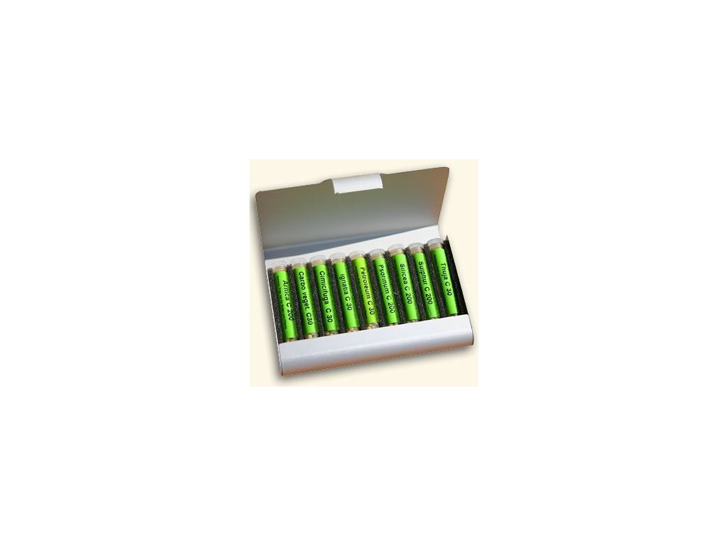 0011638 homeopaticka lekarnicka sada 9 druhu