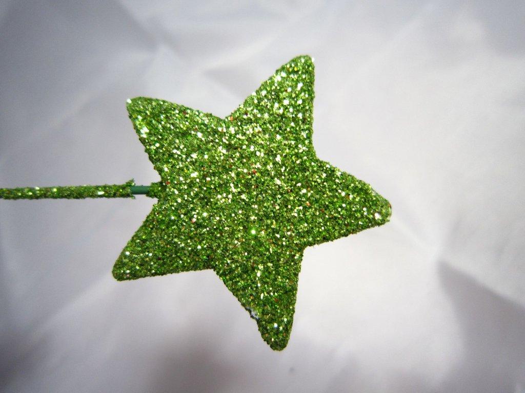 0004060 hvezdicka zapich zelena