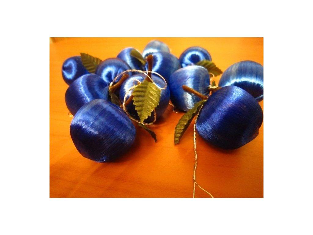 0002340 jablicko nitene male modre 12 ks