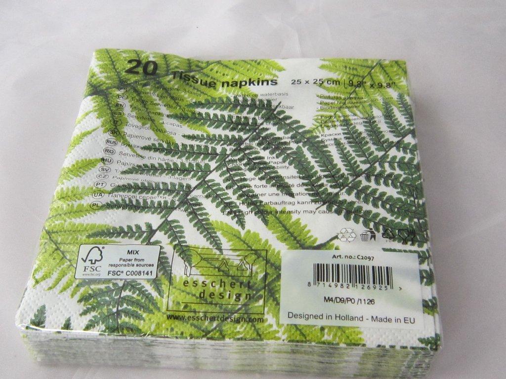 0005335 papirove ubrousky 20 ks
