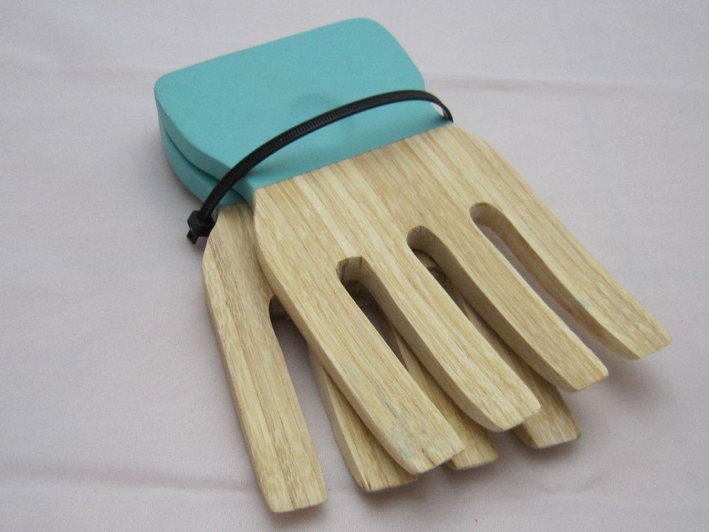 0006687 bambusove servirovaci vidlicky na salat