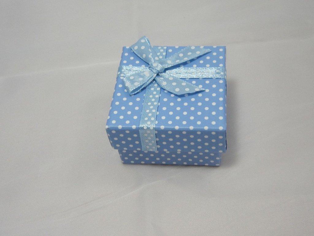 0003797 krabicka modra puntik