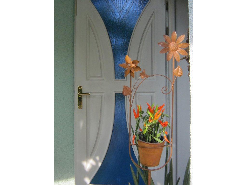 0005292 kvetinac s vetrnikem zapichovaci