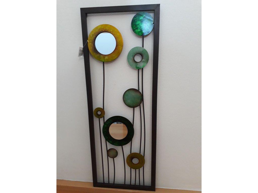 0007563 kvetinova kompozice kov a zrcadla a