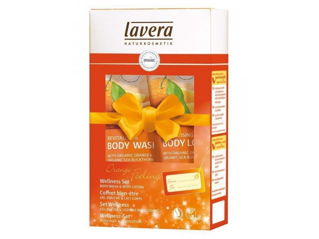 0006278 lavera darkovy wellness set bio pomerancove zazitky