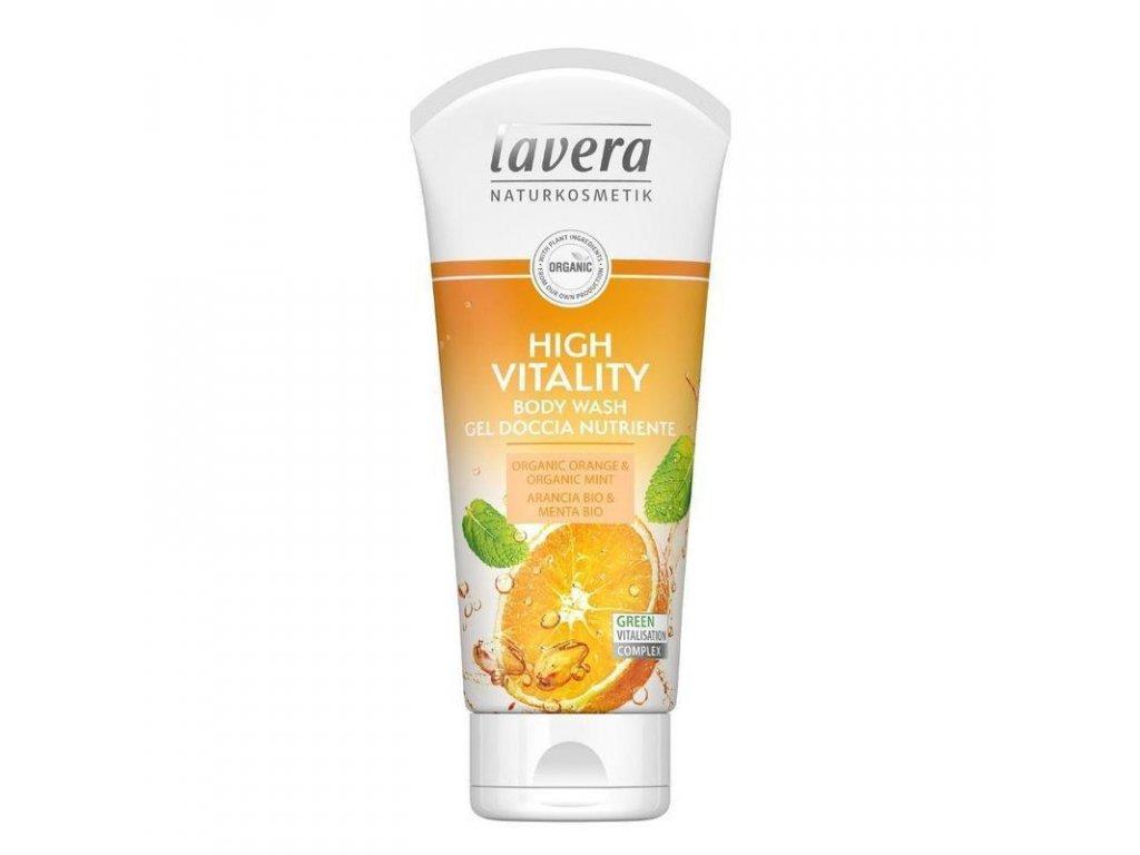 0006280 lavera sprchovy gel bio pomeranc 200 ml