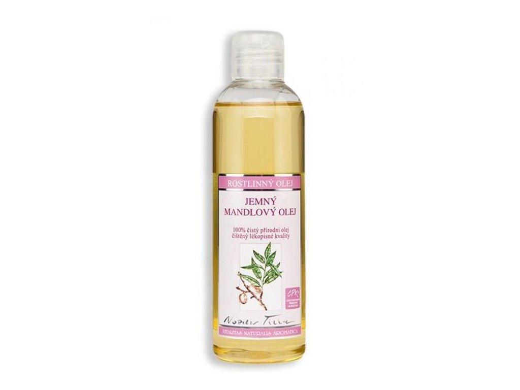 0001027 mandlovy olej jemny 200 ml plast