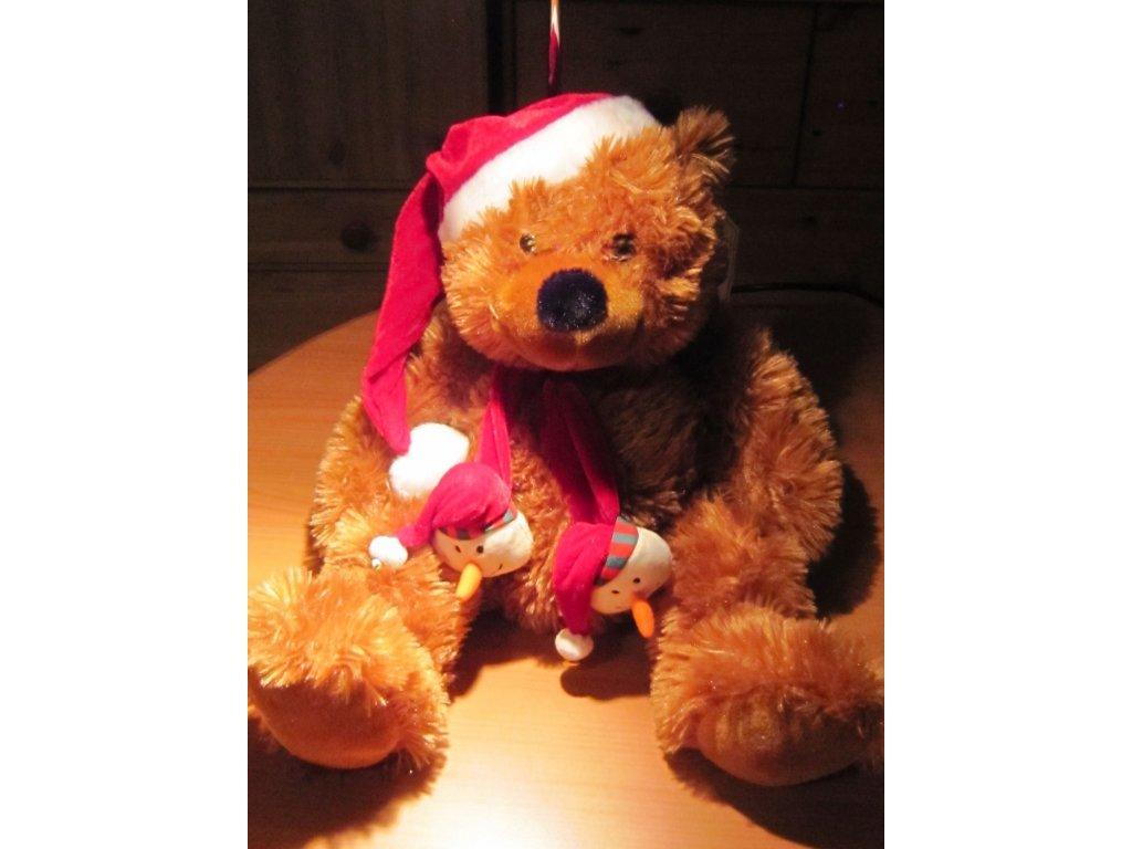 0011670 medved vanocni