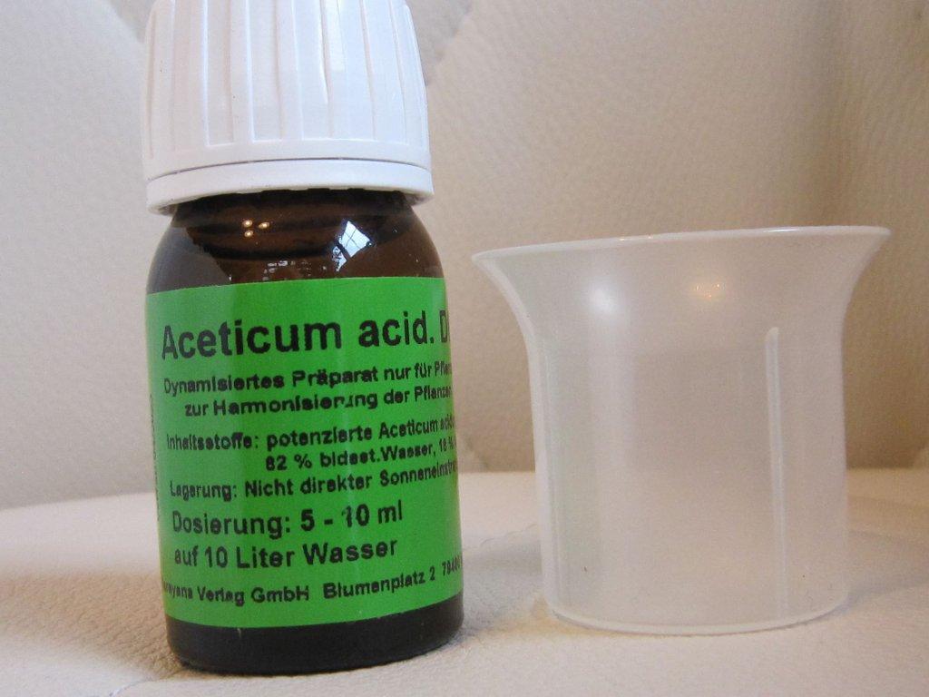 0006116 acetic acid d6 homeoplant proti plevelum