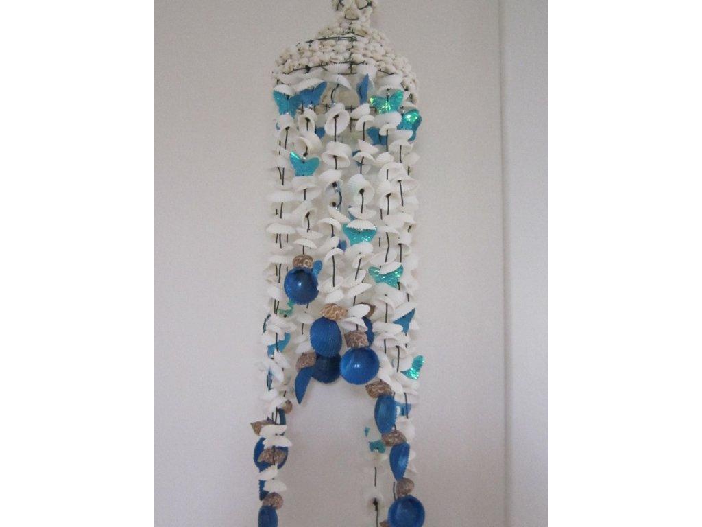 0007054 muslova zvonkohra s motylky modra
