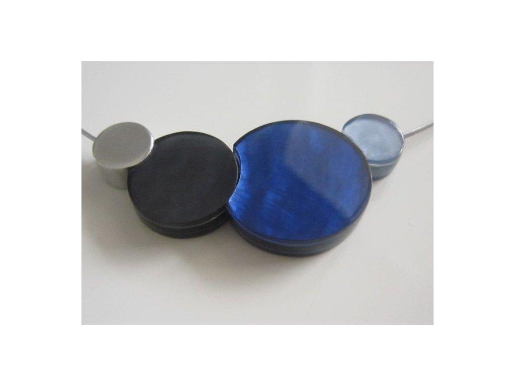 0002835 nahrdelnik 4 circles modro cerny