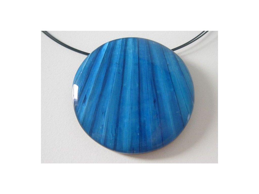 0002894 nahrdelnik palm leaf modry