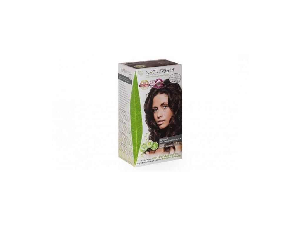 0005636 naturigin barva na vlasy dark coffee brown 30