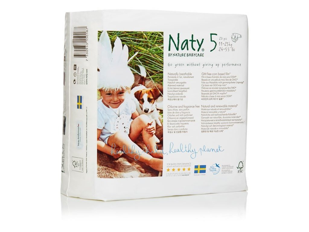 0005396 naty nature babycare junior 11 25 kg detske plenky 23 ks