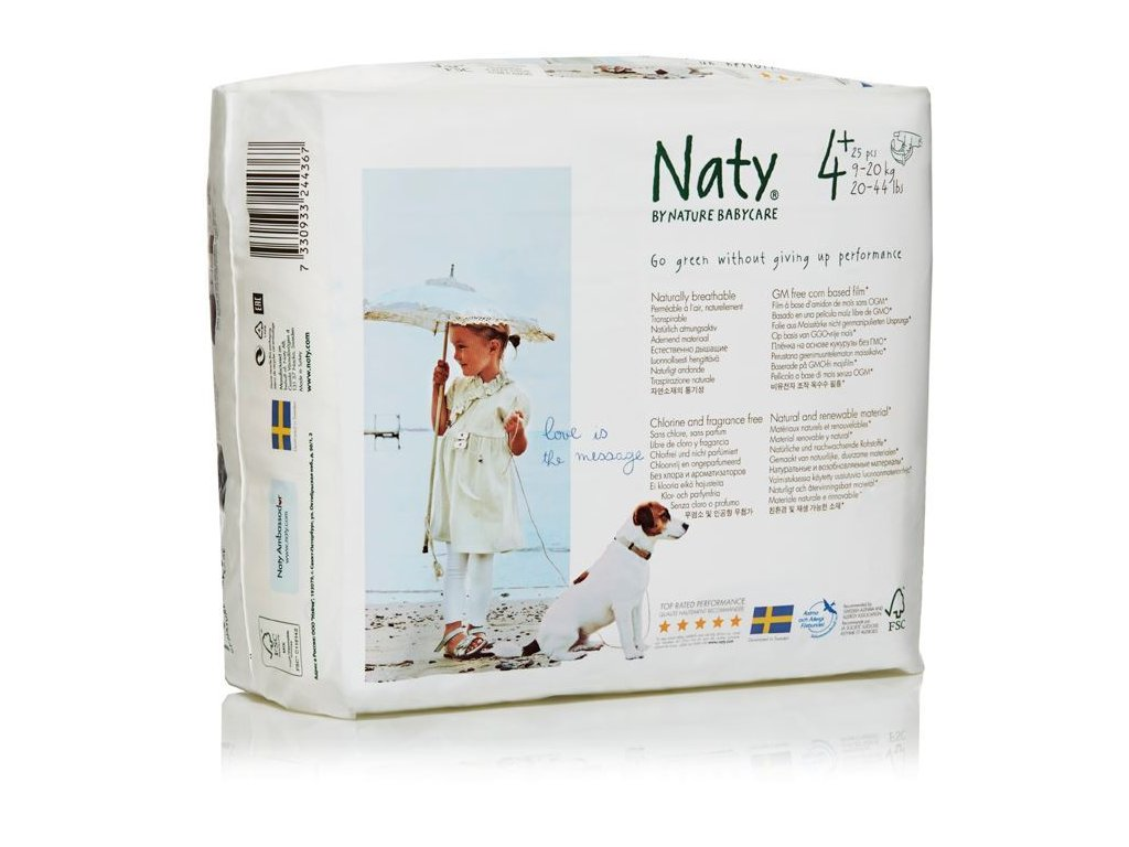 0005402 naty nature babycare maxi plus 9 20 kg detske plenky 25 ks