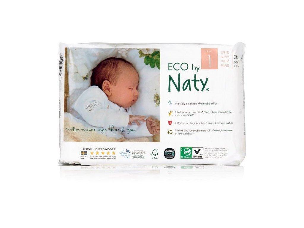 0005386 naty nature babycare newborn 2 5 kg detske plenky 26 ks