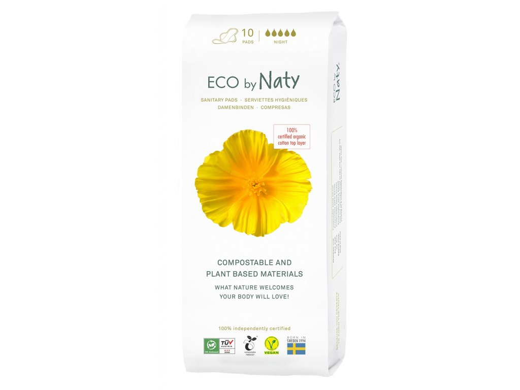 0005440 naty nature womancare nocni hygienicke vlozky