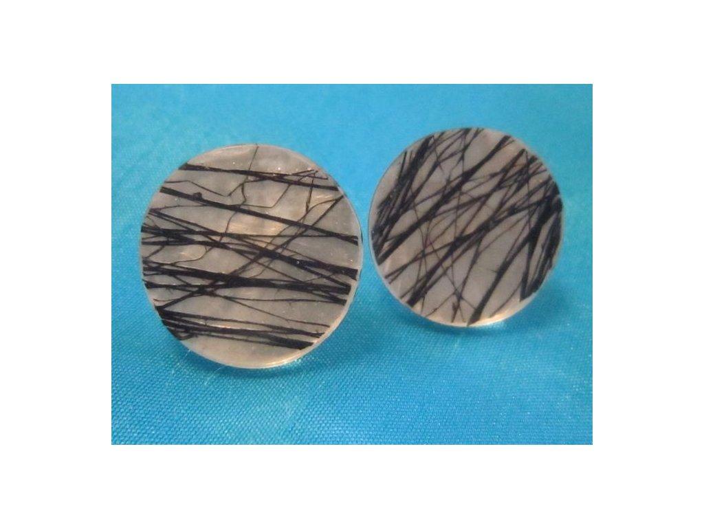 0002955 nausnice black fibre