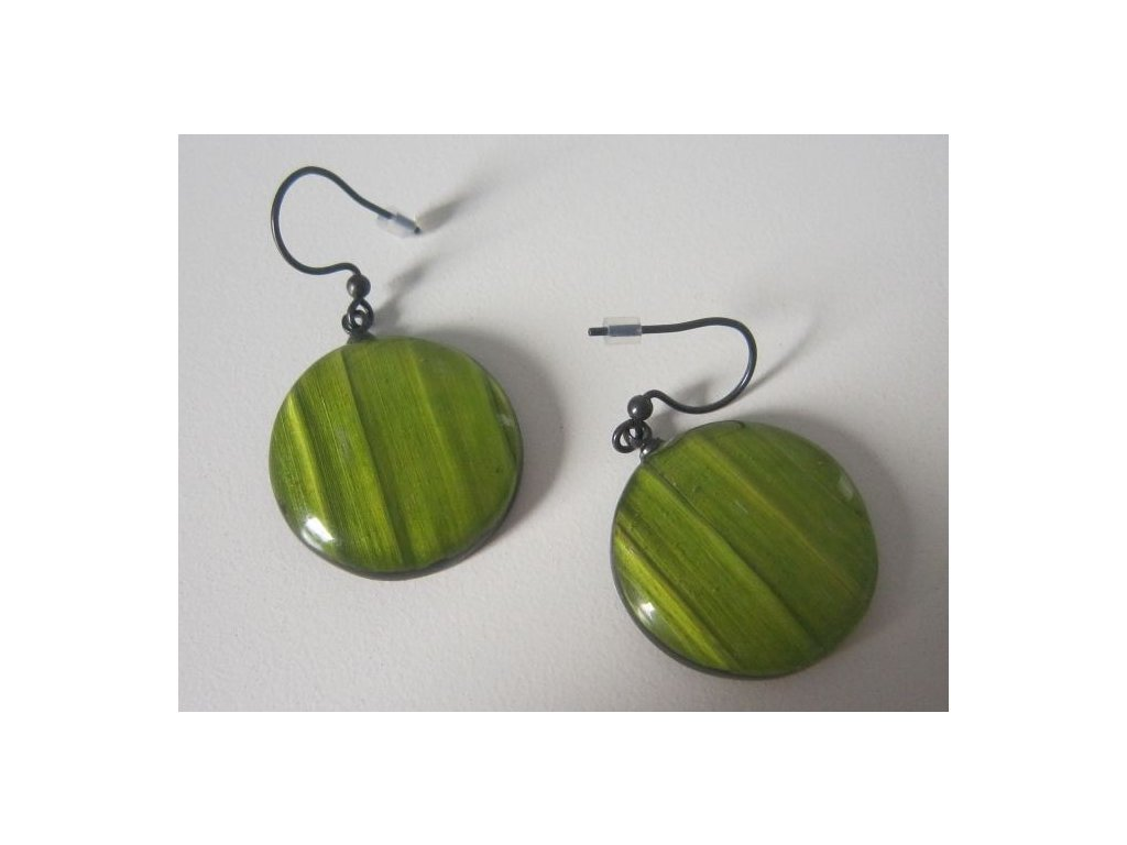 0002992 nausnice palm leaf zelene