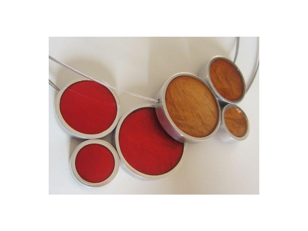 0003008 oboustranny nahrdelnik cervena med