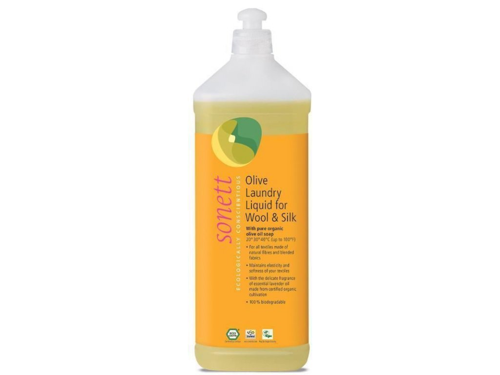 0009866 olivovy praci gel na na vlnu a hedvabi 1 l