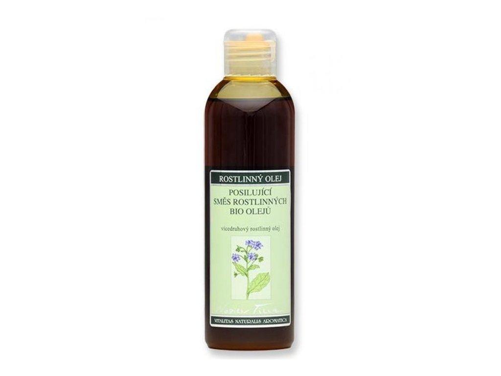 0001051 posilujici smes rostlinnych oleju bio 200 ml plast