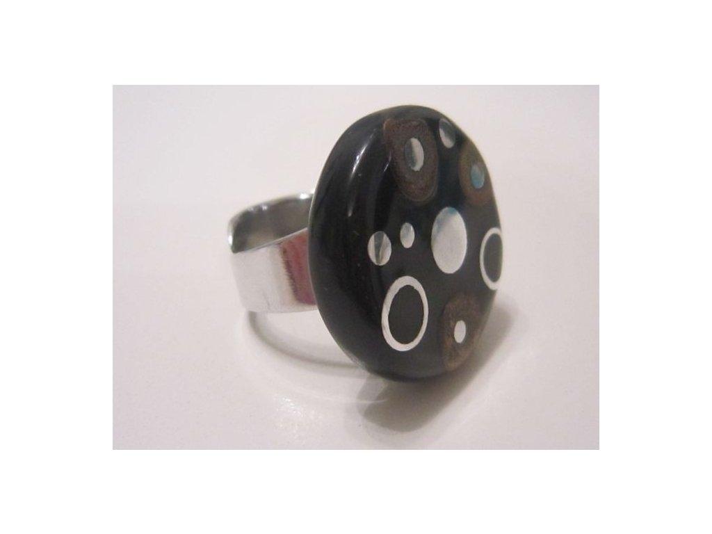 0003017 prsten bamboo dots