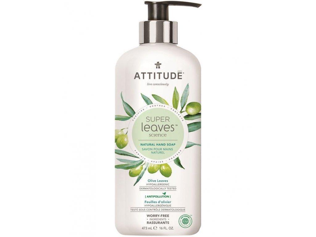 0009124 prirodni mydlo na ruce olivove listy 473 ml