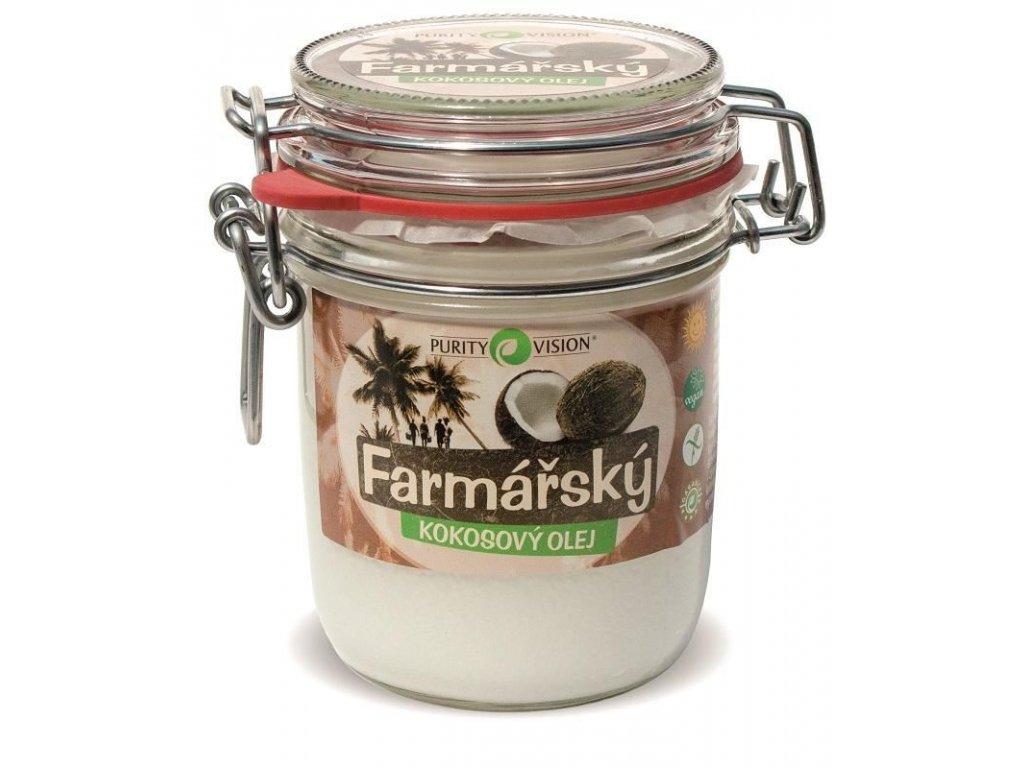 0004364 purity vision kokosovy olej farmarsky 300 ml